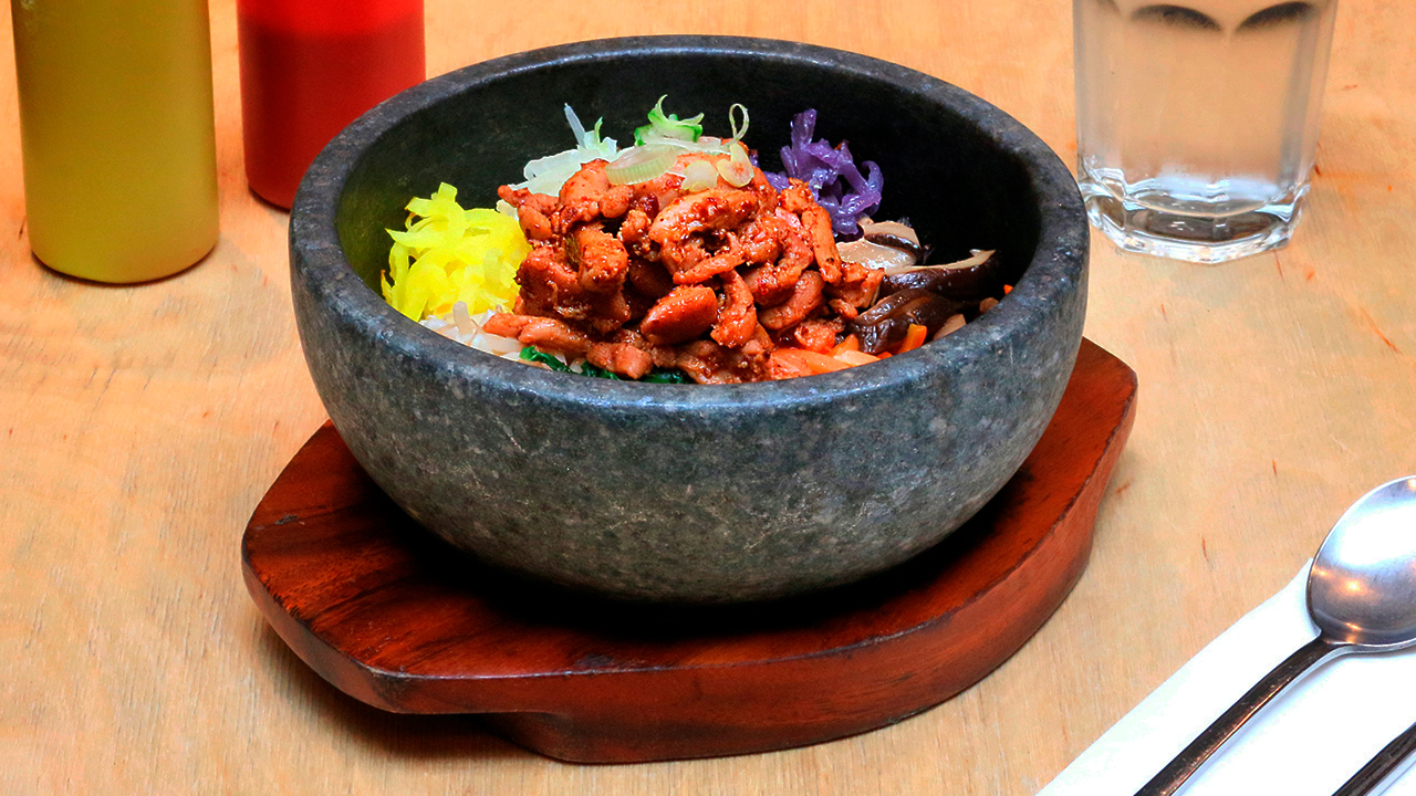 Straight Forward Design - We love Fitzrovia BiBimBap