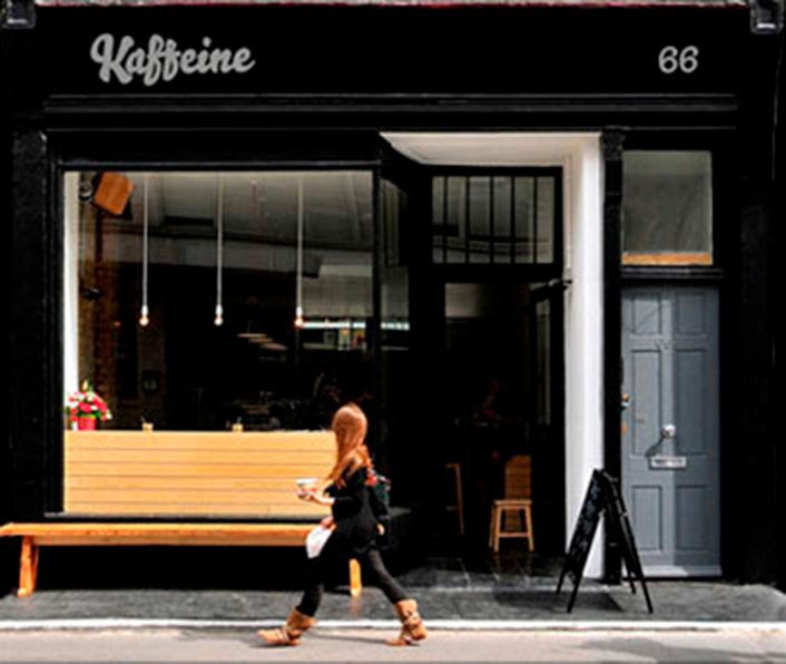 Straight Forward Design - We love Fitzrovia Kaffeine