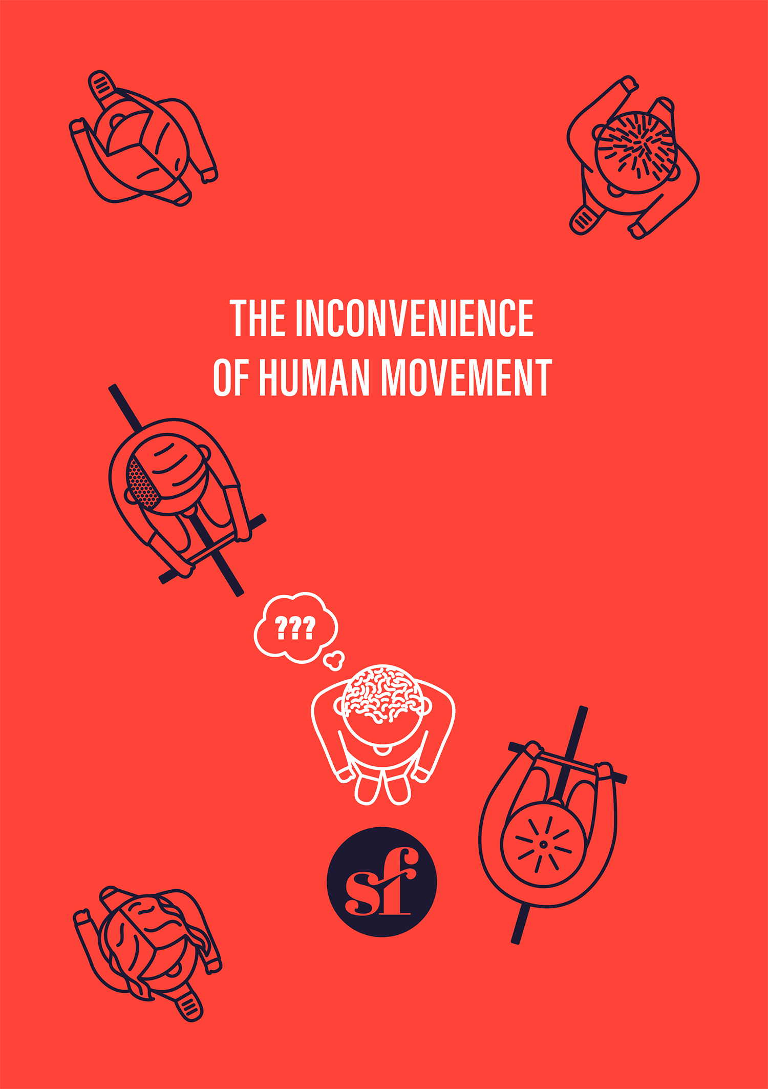 Straightforward. The Inconvenience of Human Movement Cover