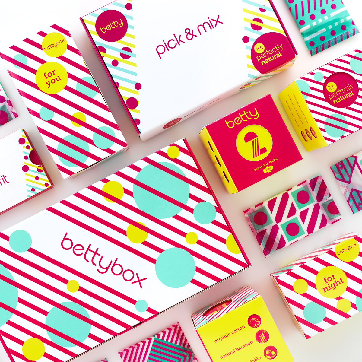 Straightforward. betty brand creation and packaging design