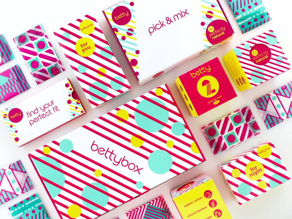 Straight Forward. betty brand creation and packaging design