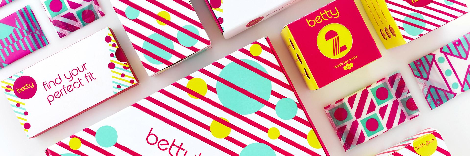 Straightforward. betty brand creation and packaging design