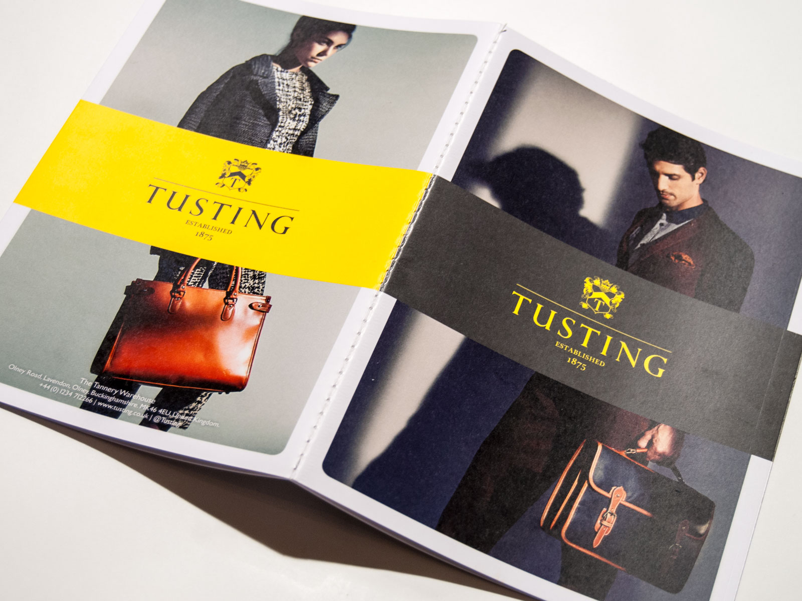 StraightForward. Tusting Catalogue design