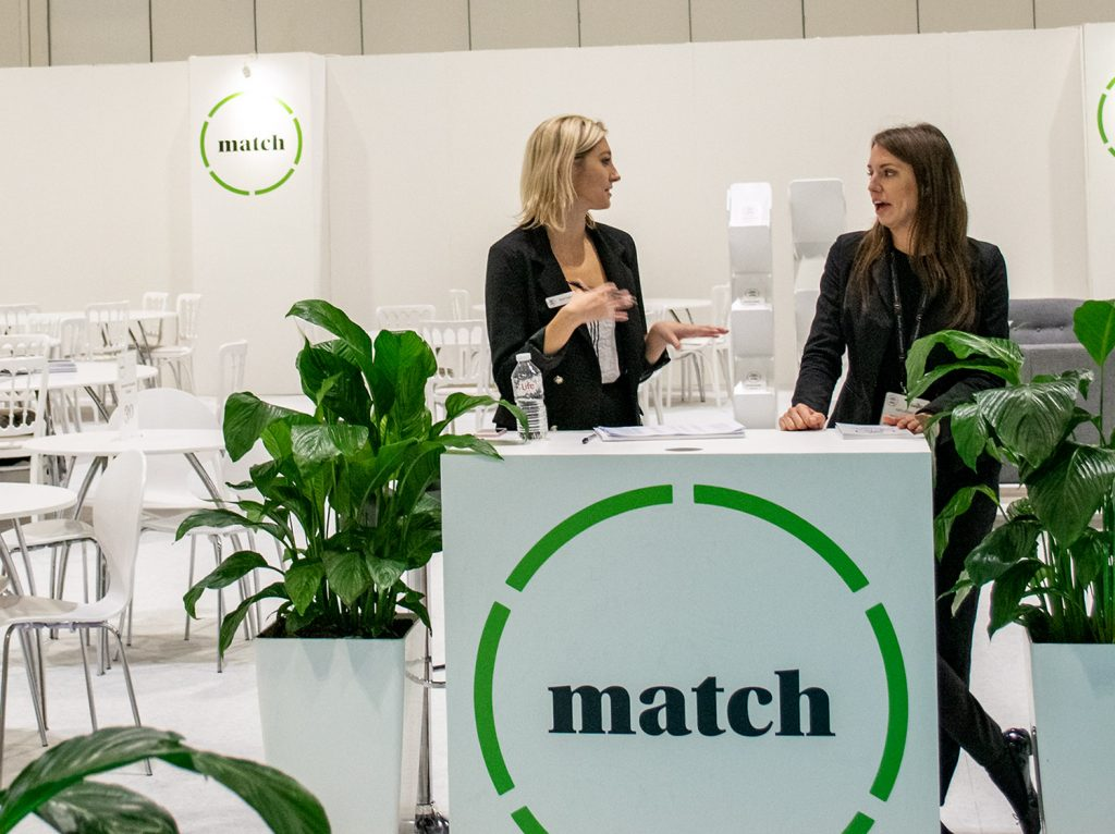 Straight Forward. Food Matters Live 2018 Event Match Area