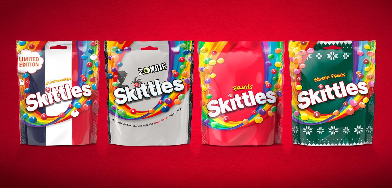 Straight Forward Skittles Packs