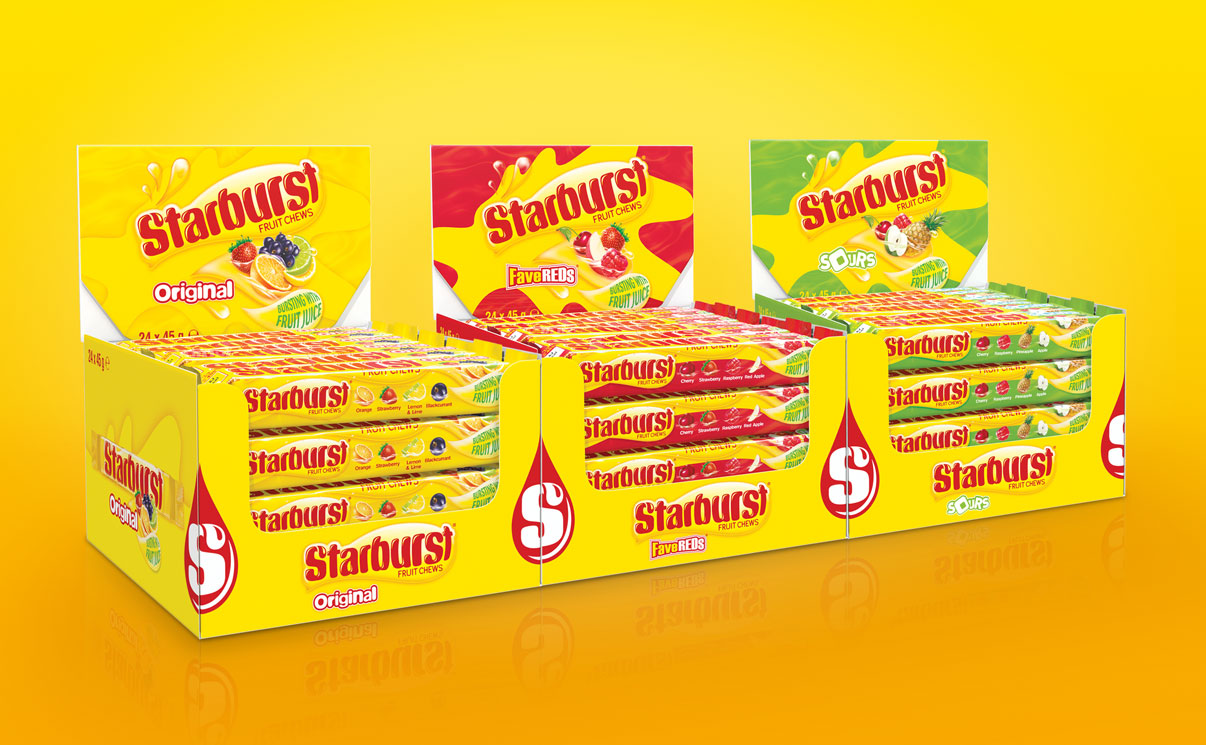 Straight Forward Design Starburst Sticks