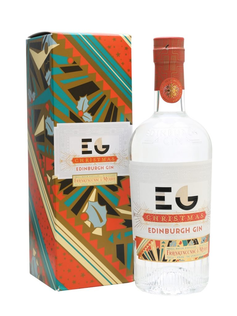 Edinburgh Gin - Seasonal packaging