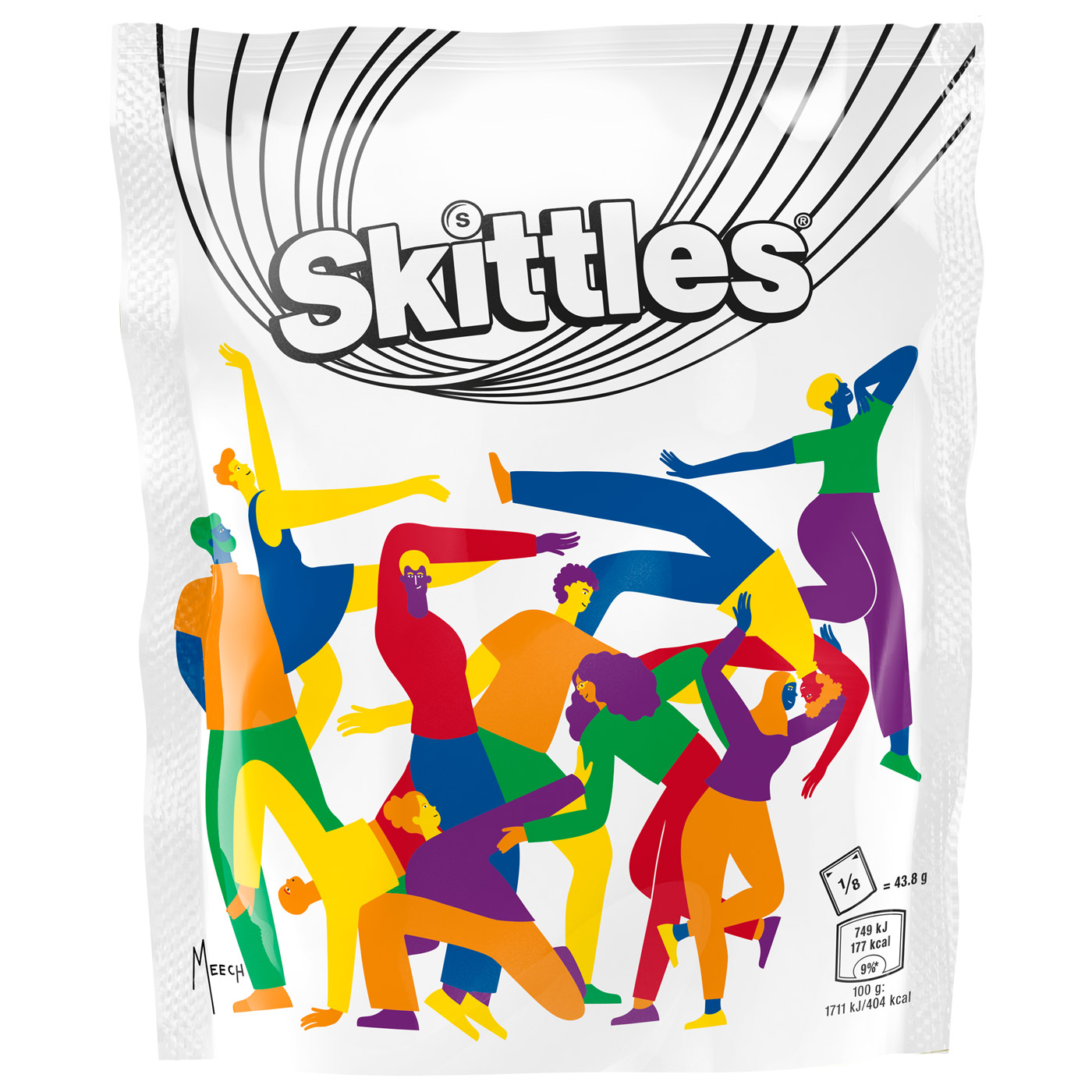 Straight Forward Skittles Pride 2019 Limited edition packaging: Packaging Design with Maia Boakye