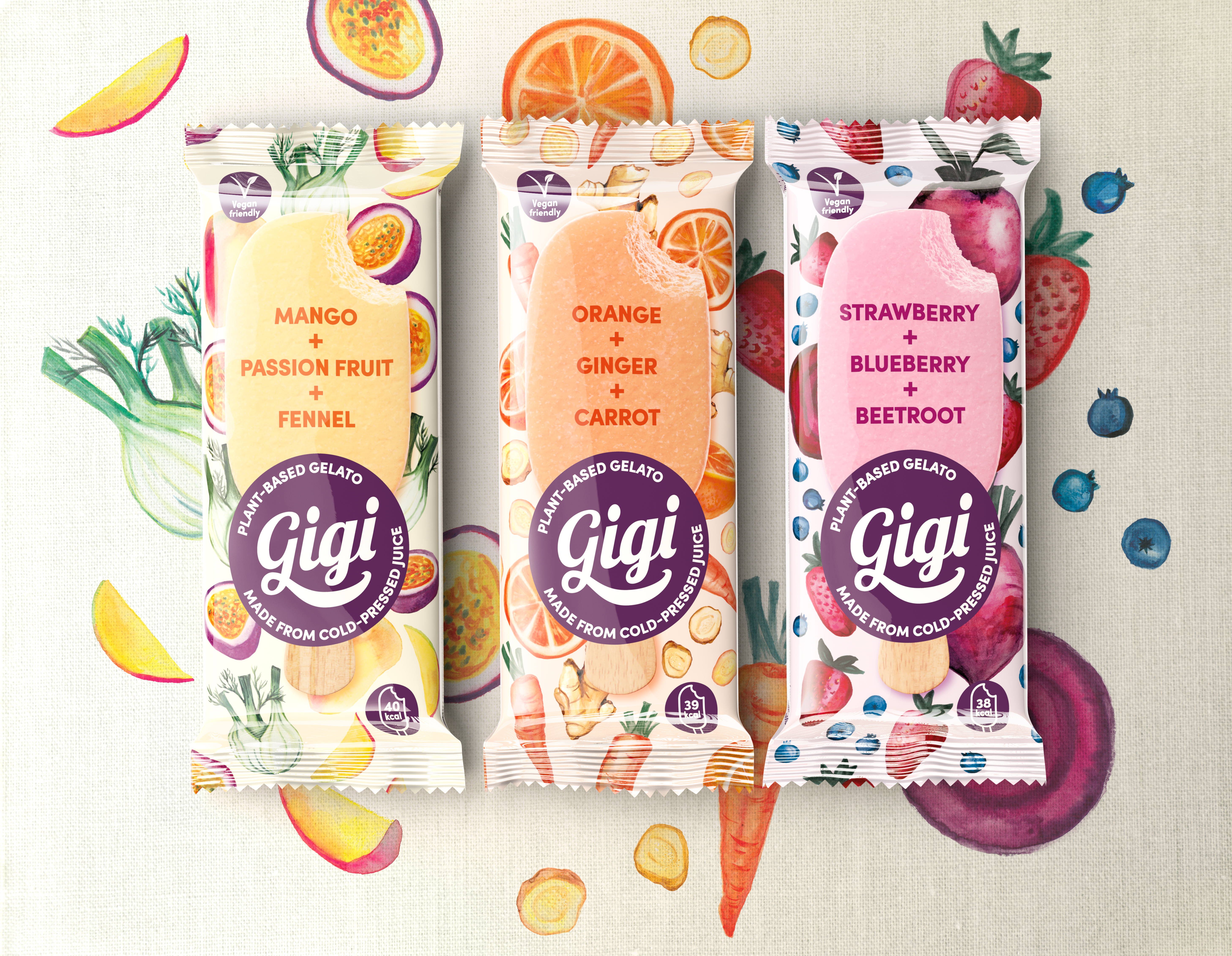 plant-based gelato