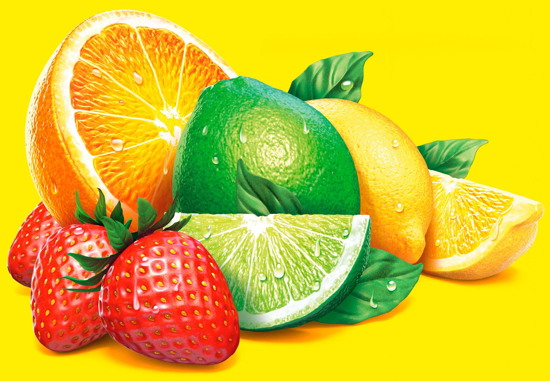 Straight Forward Design Opal Fruits Illustration 2020