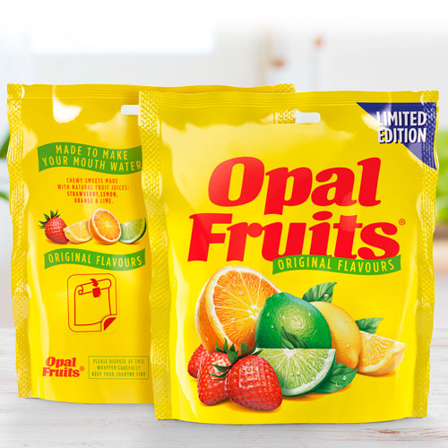 Straight Forward Design Opal Fruits 2020