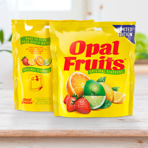 Straight Forward Design Opal Fruits 2020