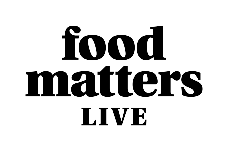 Straightforward. Food matters Live rebrand.